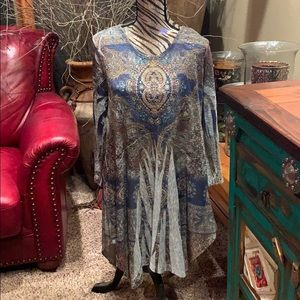 Cactus tunic dress
